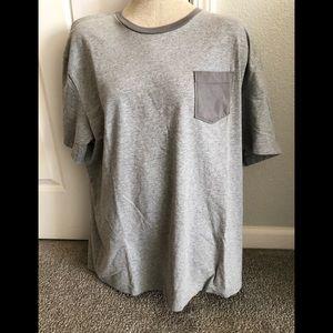 Tommy Hilfiger men's gray tee shirt, NWOT